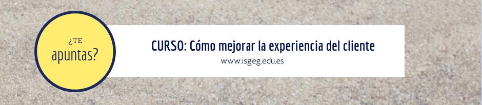 ISGEG Experiencia del cliente